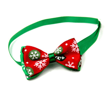 Christmas Pet Supplies Handmade Ribbon Dog Bow Ties