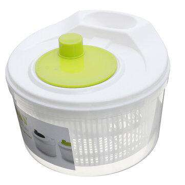 Portable Vegetable Spin Dryer Dehydrator Household Drainer Salad Spinner for Kitchen Drying Tool