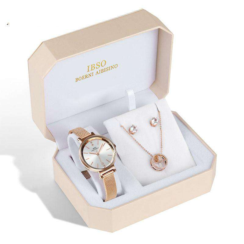 Temperament fashion ladies watch