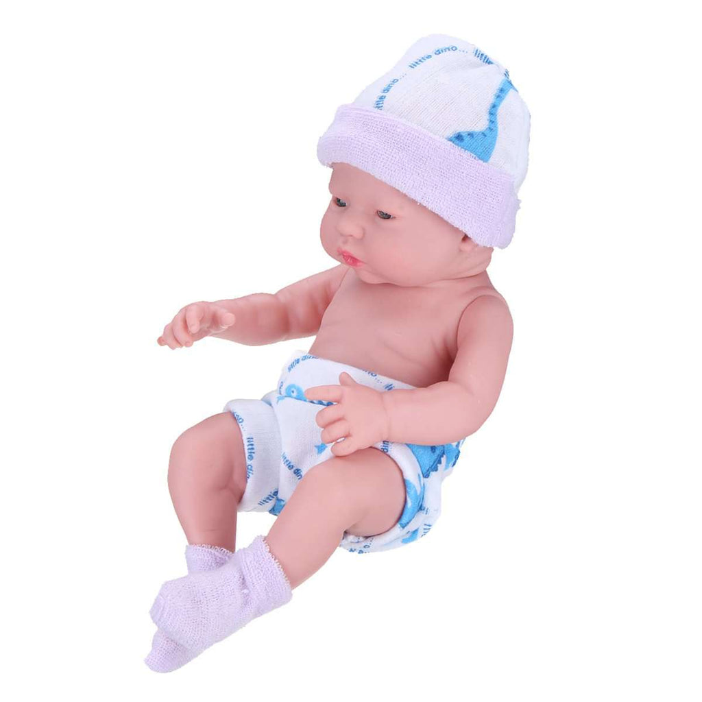 Newborn Baby Dolls Gift Toys Soft Vinyl Silicone Lifelike Newborn Kids Toddler Girl