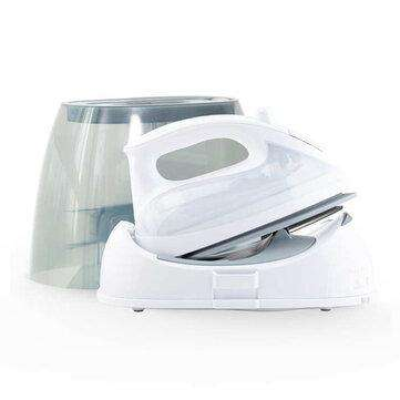 Lofans YPZ-7878 1300W Household Cordless Steam Iron Strong Steam Electronic Temperature Adjustment Electric Iron White