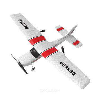 RC Airplane Trainer Glider RTF With Gyroscope Garden Indoor Flying