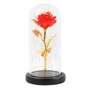 LED Enchanted Galaxy Rose Eternal
