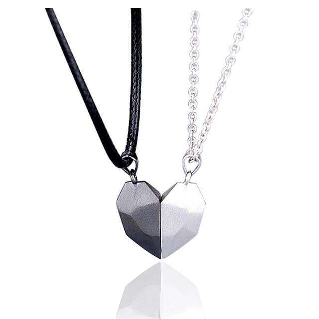 Magnetic Couple Necklace