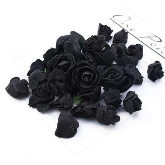 100pcs Wedding Teddy Bear of Roses Diy Gift