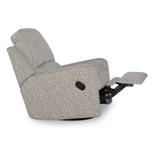 Perth Linen Swivel-Glider-Recliner