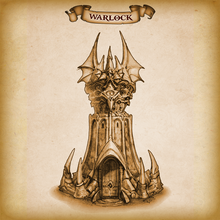 Load image into Gallery viewer, Warlock Dice Tower