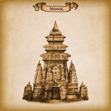 Load image into Gallery viewer, Monk Dice Tower