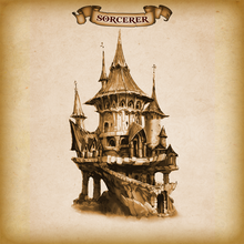 Load image into Gallery viewer, Sorcerer Dice Tower