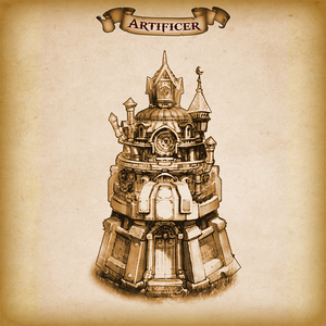 Artificer Dice Tower