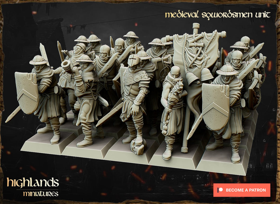 Sword and Spearmen (4 units)