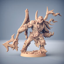 Load image into Gallery viewer, Throgar the Chainbreaker - Orc Barbarian Hero