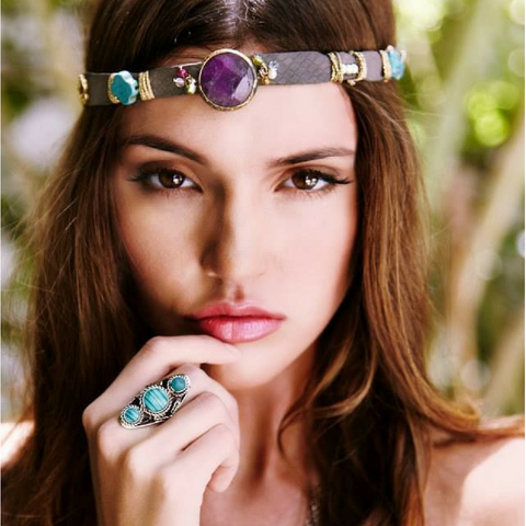 Statement stone ring jewelry Ibiza Passion