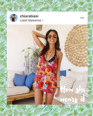 Chiara Biasi blogger long hippie necklace fashion jewelry