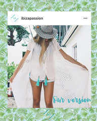 Ibiza Passion long necklaces pom pom fashion jewelry