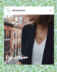 Ibiza Passion blogger gold plated necklaces layered fashion jewelry