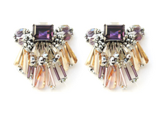 Ibiza Passion crystal earrings