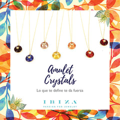 amulet crystal ibiza passion boho chic bohemian fashion jewelry silver gold plated 18k necklace colors