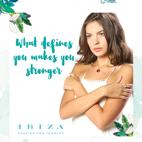 amulet find what defines you make you stronger - blog IBIZA PASSION - crystal boho chic luxe fashion jewelry jewels shop online