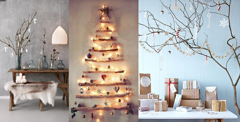 you would be recycling and if you want to make them glare add some ornaments and light what do you think about this amazing christmas tree - Boho Christmas Decor