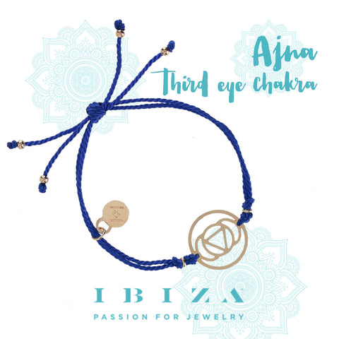 third eye Ajna chakra red bracelet IBIZA PASSION boho chic luxe fashion jewelry blog shop online