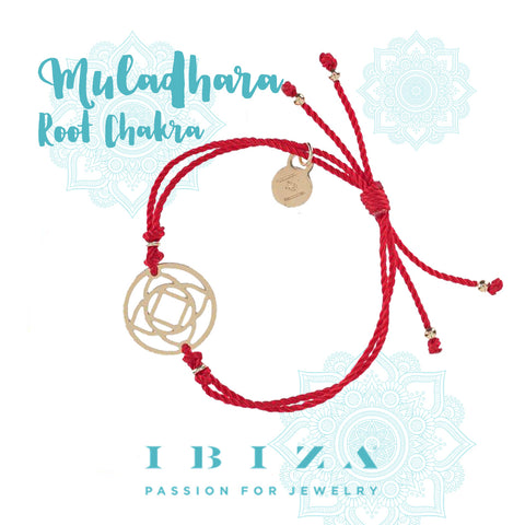 Muladhara root chakra red bracelet IBIZA PASSION boho chic luxe fashion jewelry blog shop online