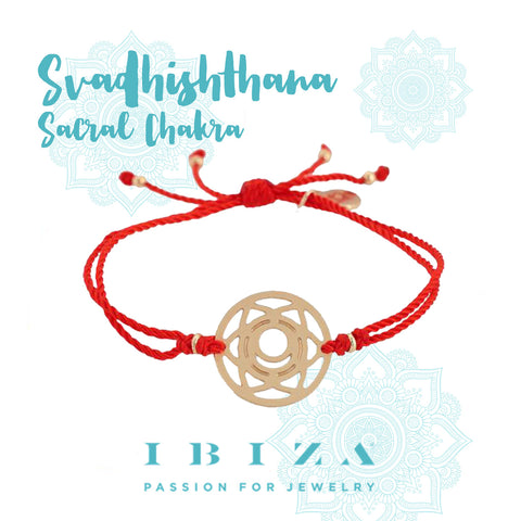 sacral chakra red bracelet IBIZA PASSION boho chic luxe fashion jewelry blog shop online