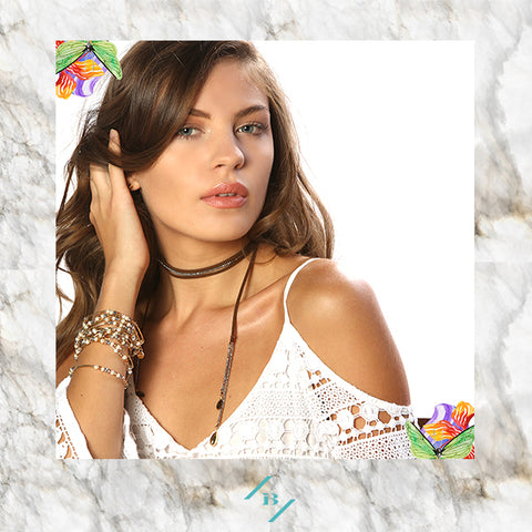 boho chic choker necklace fashion jewelry blog ibiza passion