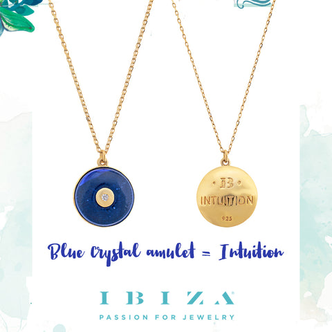 blue intuition amulet - blog IBIZA PASSION - crystal boho chic luxe fashion jewelry jewels shop online