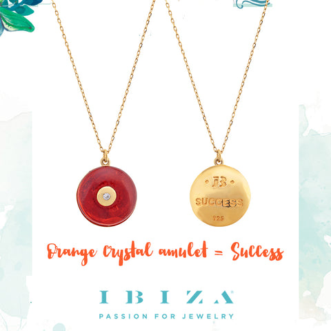 amulet orange success - blog IBIZA PASSION - crystal boho chic luxe fashion jewelry jewels shop online