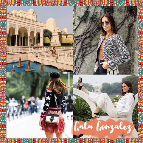 Top 10 Spanish bloggers to follow Gala Gonzalez - Blog IBIZA PASSION boho chic luxe online store fashion jewelry jewels