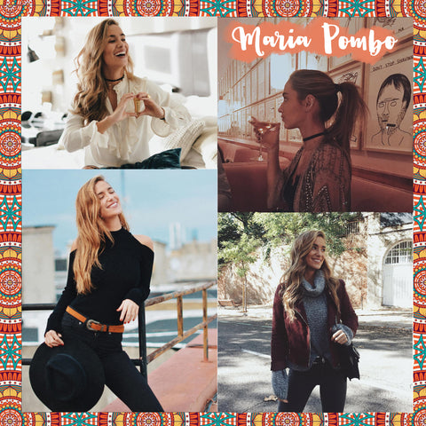 Top 10 Spanish bloggers to follow Maria Pombo - Blog IBIZA PASSION boho chic luxe online store fashion jewelry jewels