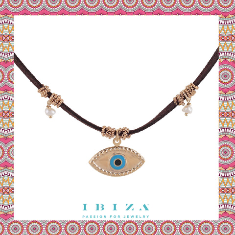 Mystic Eye Evil Choker - Blog IBIZA PASSION boho chic luxe fashion jewelry jewels online store