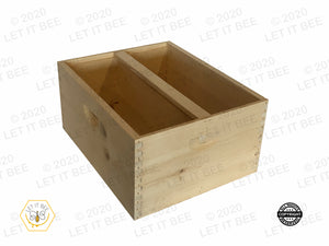 Deep Box w/ Divider for Support Hive