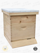 Load image into Gallery viewer, 10 Frame Complete Hive Kit Combo - Wood Frames
