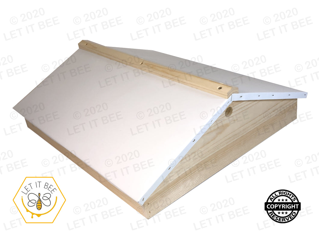 Ventilated Gable Telescoping Cover