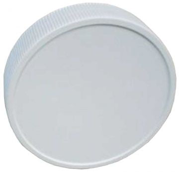 63 mm Plastic Lids with Liners - 12 pack