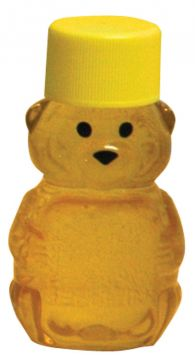 2 oz (56.7g) Bear with Yellow Screw Cap - 24 pack