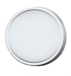 48 mm Plastic Lids with Liners - 12 pack