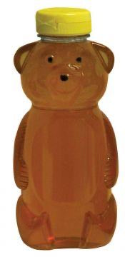 1 1/2 lb (24 oz) PETE Plastic Squeeze Bears - Without Lids - 175 pack