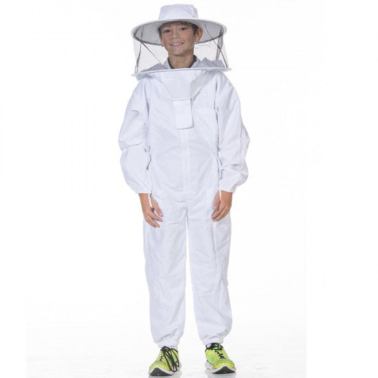 Youth Bee Suit with Round Veil
