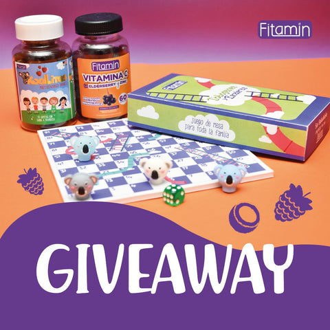Giveaway Septiembre 2021 Fitamin