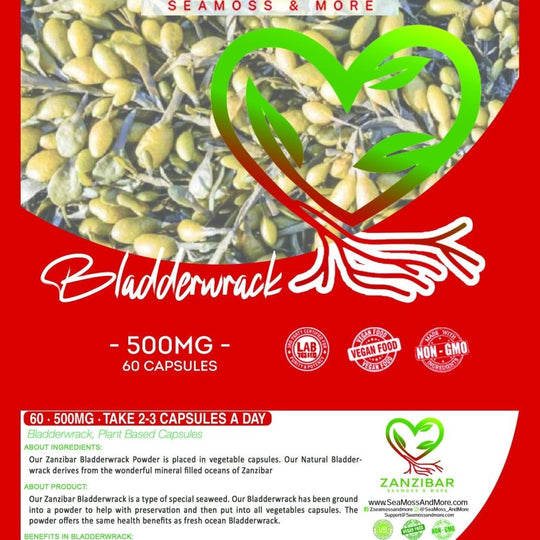 Zanzibar Bladderwrack Pack (60ct) (1 Month Supply)