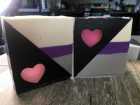 Demi-Deity (demisexual pride flag) soap