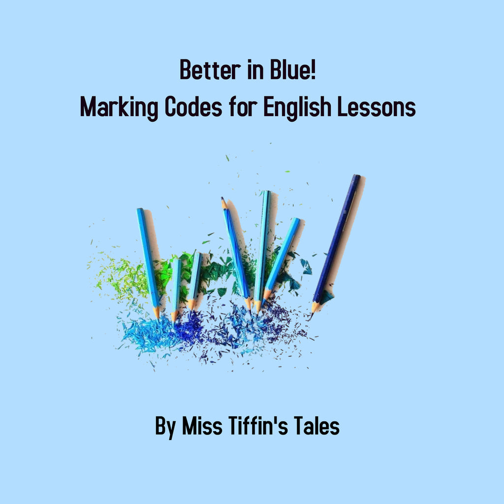 Better in Blue: Marking Codes for English Lessons