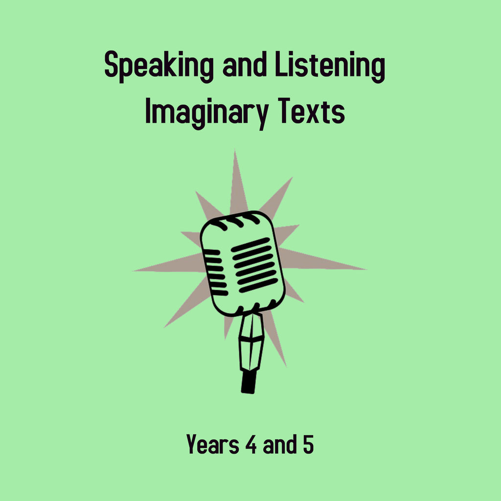 Imaginary Texts, Years 4 and 5