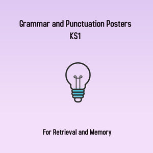 Grammar and Punctuation Posters, KS1