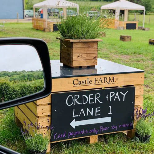 Visit our Drive Thru Farm Shop!