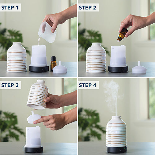 AIROMÉ ULTRASONIC OIL DIFFUSER