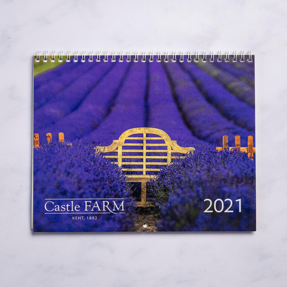 CASTLE FARM LAVENDER CALENDAR 2021 - 30% OFF!
